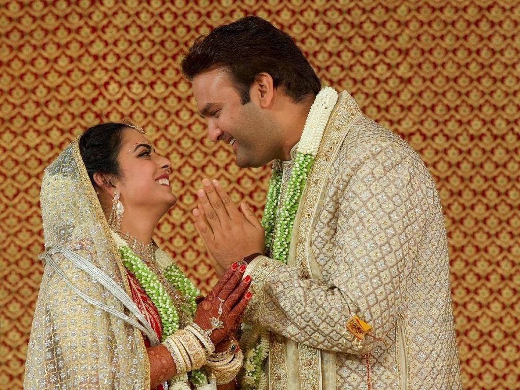 Foto: Hebohnya Pernikahan Anak Orang Terkaya se-Asia yang Habiskan Rp 1,4 T