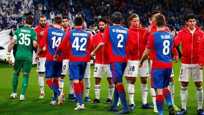 Real Madrid menjamu CSKA di Santiago Bernabeu, Kamis (13/12/2018) dinihari WIB, dalam matchday terakhir Grup G Liga Champions. Apapun hasil di laga ini sudah tak berarti apa-apa untuk Madrid yang sudah mengunci status juara grup. (Foto: Juan Medina/Reuters)