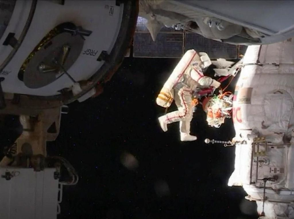 Apa Benar Paparan Radiasi Bikin Astronot Cepat Mati?