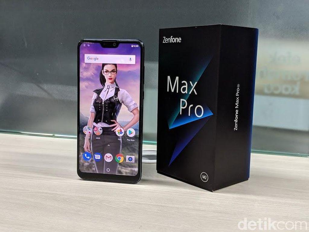 Review Asus Zenfone Max Pro M2: Gaming Mantap, Kamera Oke