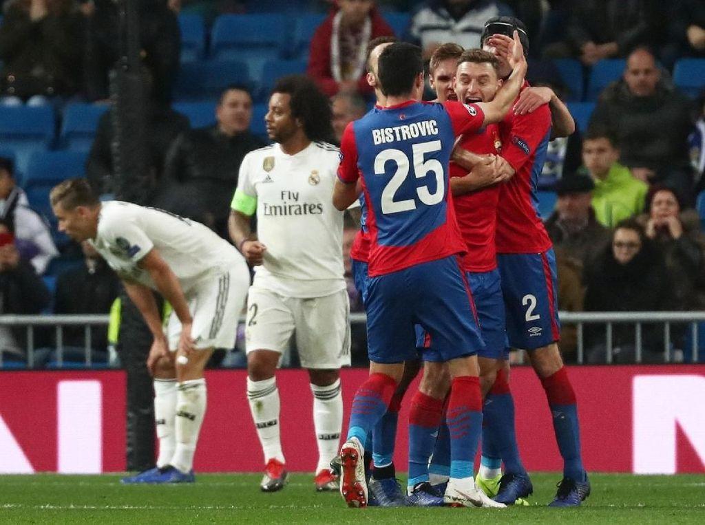 Real Madrid di Bawah Kaki CSKA di Fase Grup Liga Champions