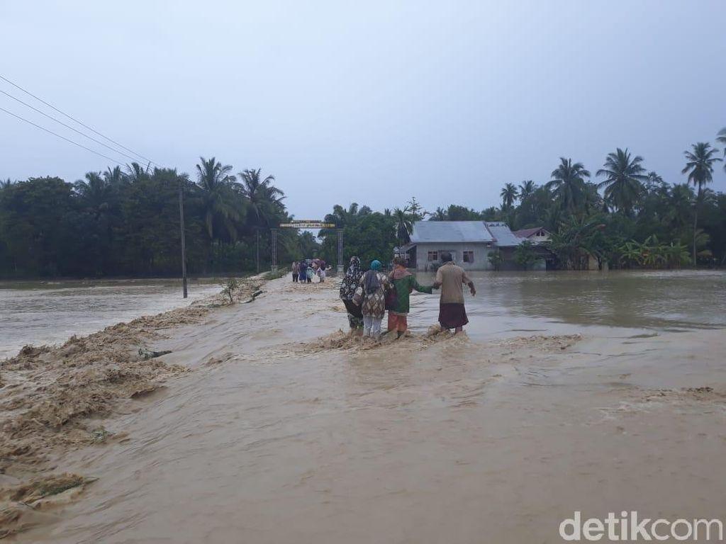 Banjir di Bireuen Aceh, 1 Orang Dilaporkan Hanyut
