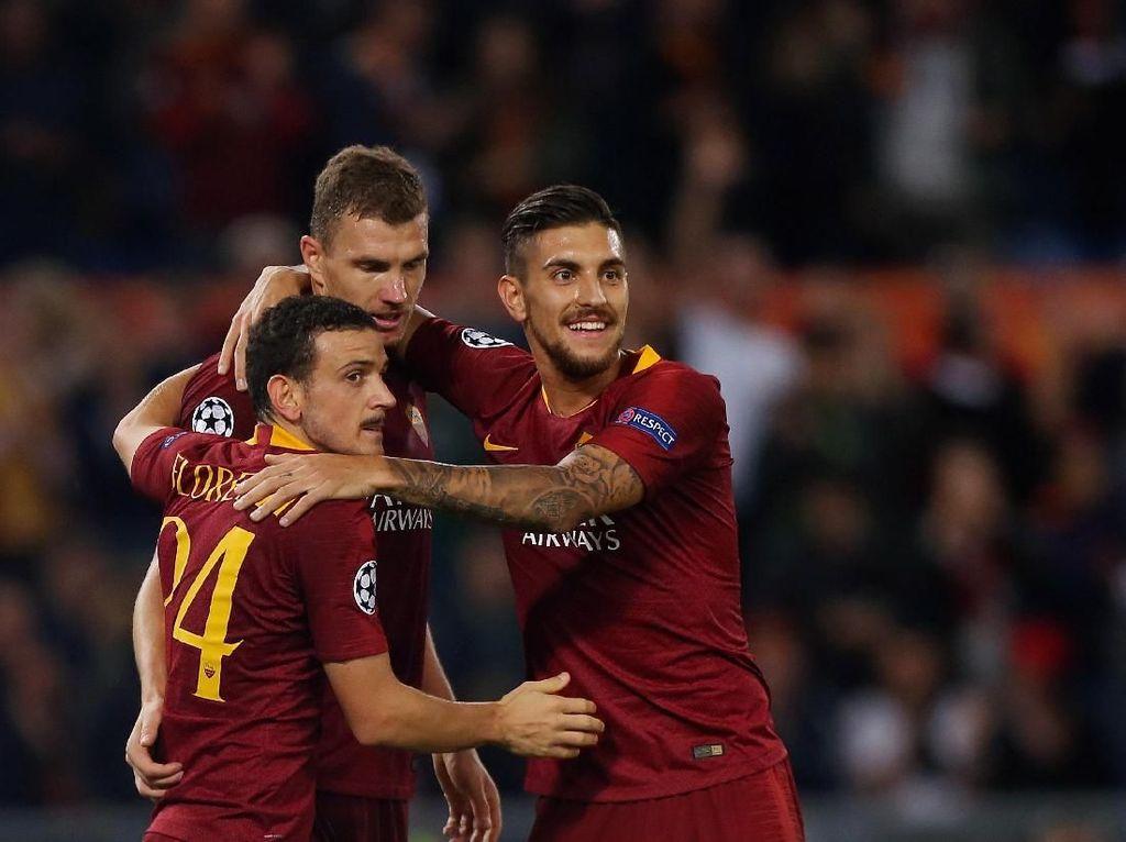 Roma Beruntung Lawan Porto, tapi...