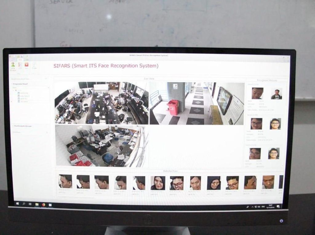 Kenalkan SIFARS, Sistem Pengenalan Wajah yang Lebih Canggih dari CCTV