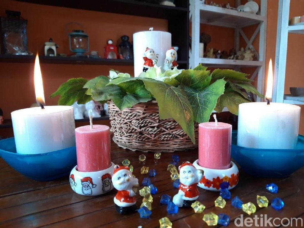 Jelang Natal, Pengrajin Lilin di Boyolali Kebanjiran Order