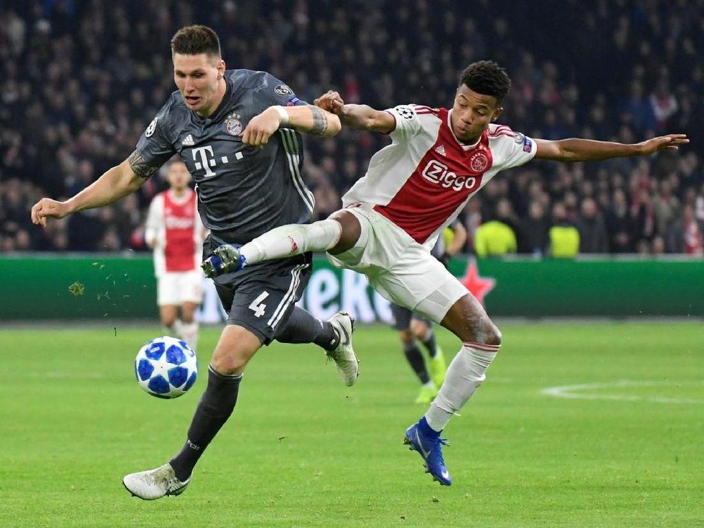 Hasil Liga Champions: Seri 3-3 dengan Ajax, Bayern Juarai Grup E