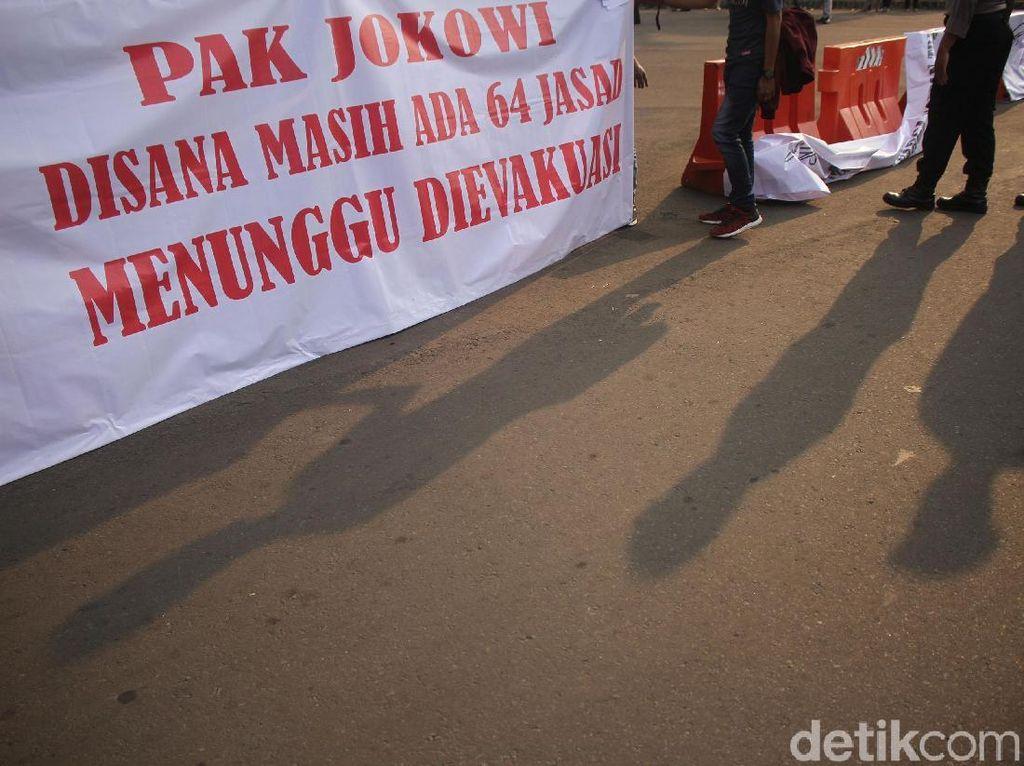 Keluarga Korban Lion Air Datangi Istana Merdeka