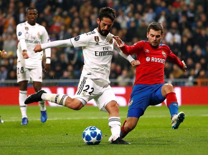 Real Madrid dipermalukan CSKA Moskow 0-3. (Foto: Juan Medina/ Reuters)