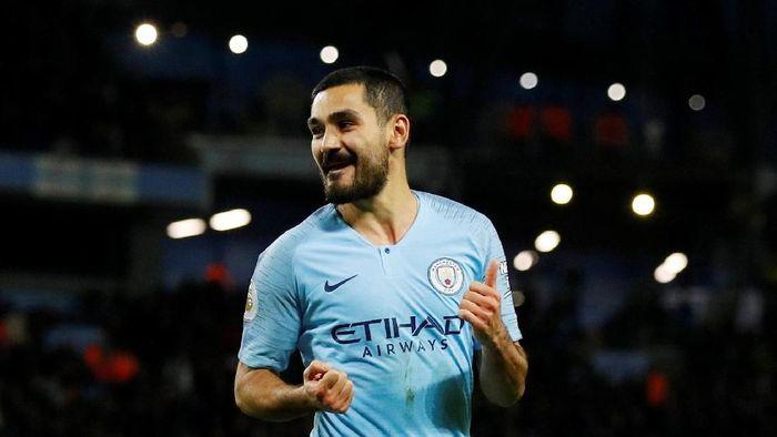 Ilkay Guendogan tunggu kontrak baru dari Manchester City (Phil Noble/Reuters)