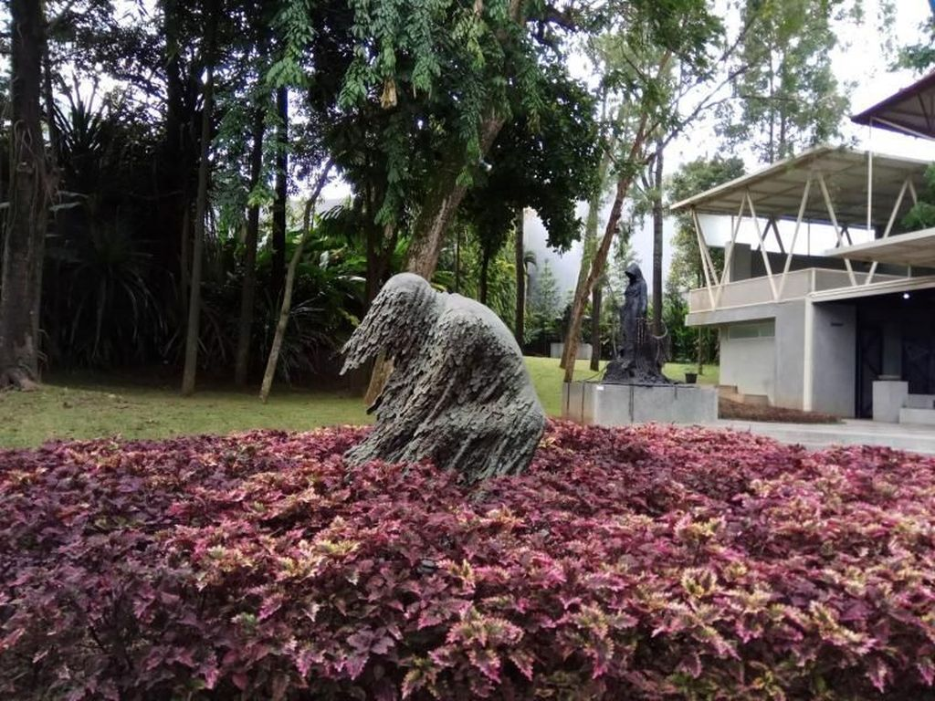 Nu Art Sculpture Park, Galeri Seni yang Menyatu dengan Taman