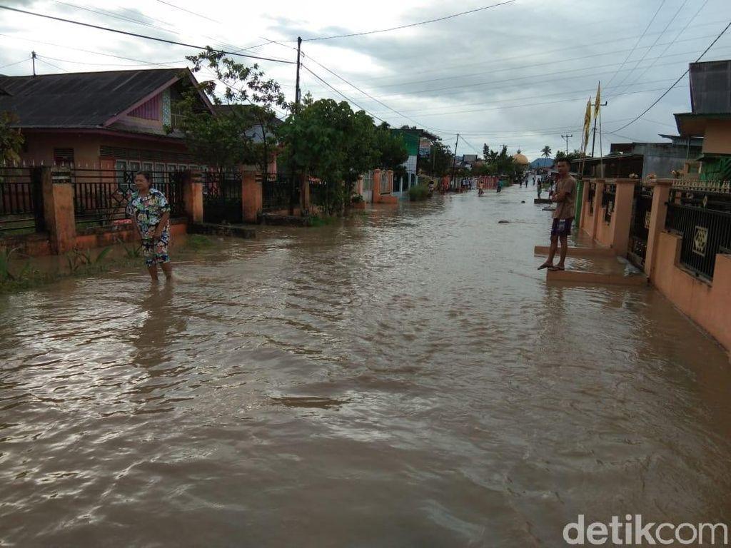 10 Kecamatan di Jambi Terendam Banjir Akibat Luapan Sungai
