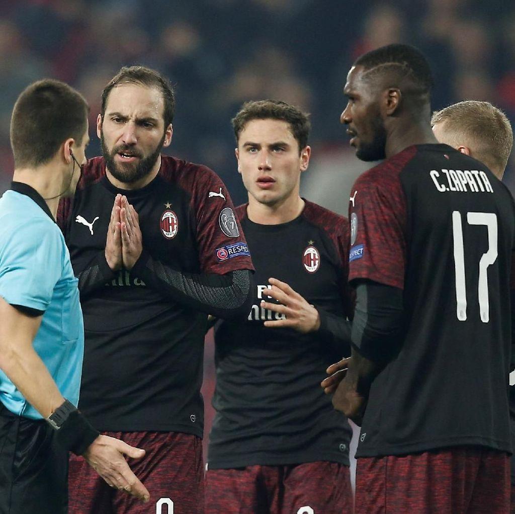 Tragisnya Nasib Milan, Inter, dan Napoli di Kompetisi Eropa