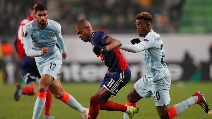 Chelsea diimbangi Vidi 2-2 di matchday terakhir fase grup Liga Europa  (Matthew Childs/Reuters)