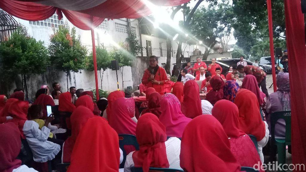PDIP Minta Emak-emak Door to Door Sosialisasi Program Jokowi