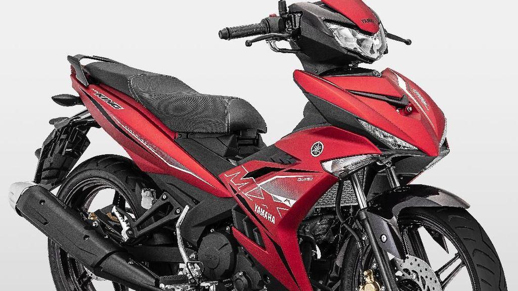 Warna Baru Yamaha MX King yang Makin Kinclong