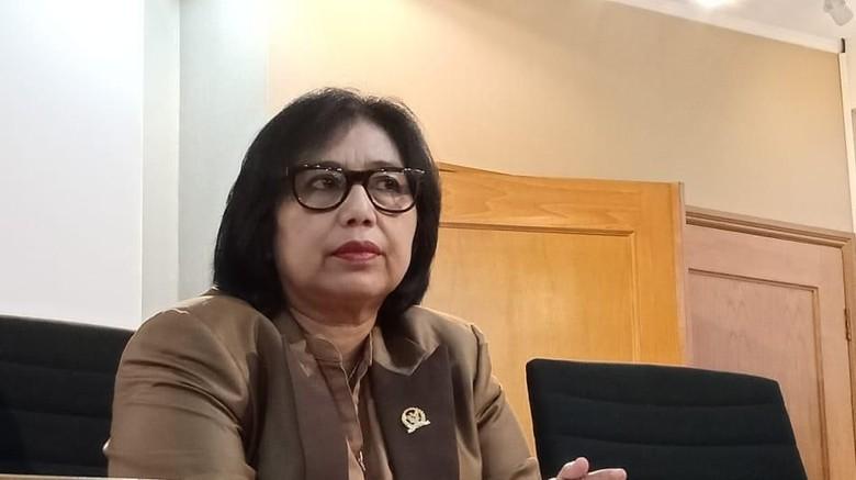 Oposisi dinilai miskin prestasi oleh Irma Suryani, politisi Nasdem