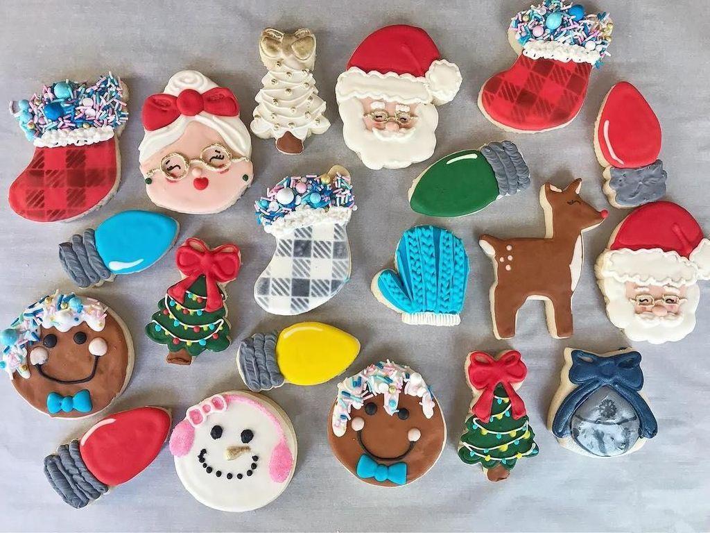Cantiknya 12 Kukis Bertema Natal yang Bisa Jadi Inspirasi Sajian Spesial