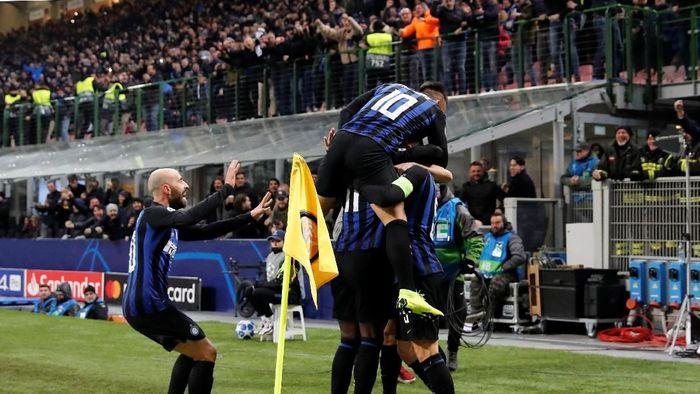 Inter Milan tersingkir dari Liga Champions (Stefano Rellandini/Reuters)