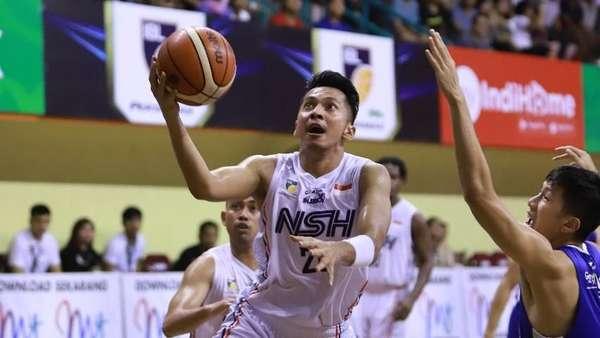 NSH Tumbangkan Juara Bertahan IBL