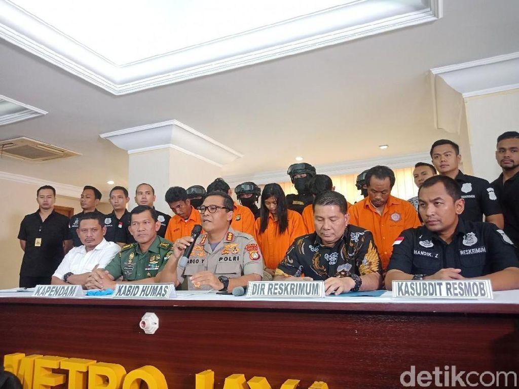 Tersangka Iwan Mabuk Saat Keroyok Anggota TNI di Ciracas
