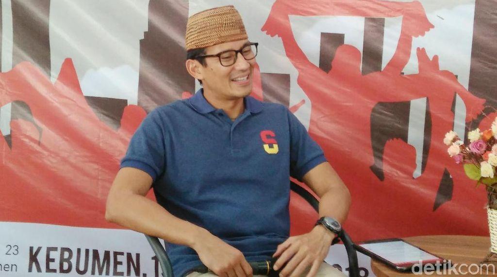 Kampanye di Magetan, Sandiaga Minta Relawan Semakin Solid