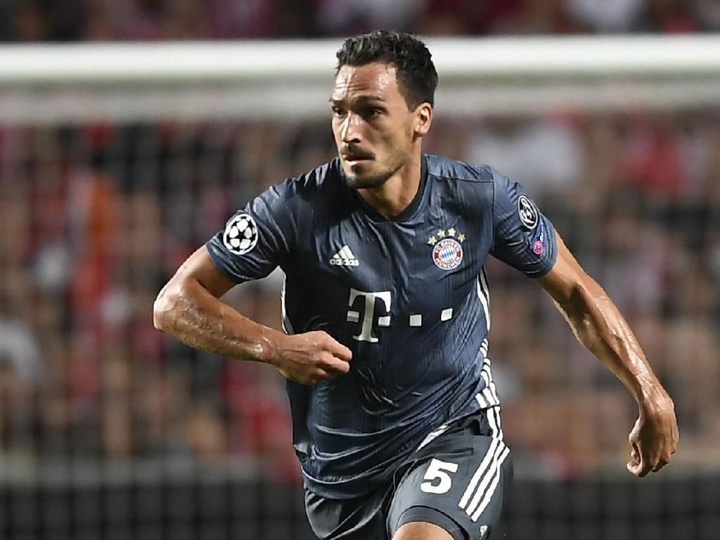 Hummels Dikabarkan Akan Kembali ke Dortmund