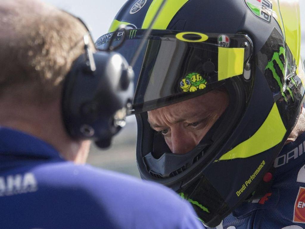 Aragon Jadi Momen Terberat Rossi di 2018