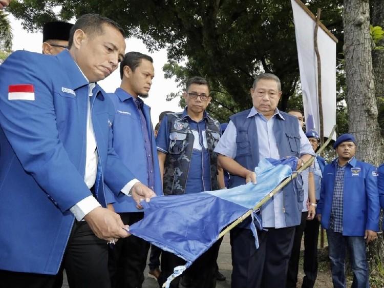 SBY Tegaskan Tak Pernah Tuduh PDIP soal Perusakan Balihonya di Riau