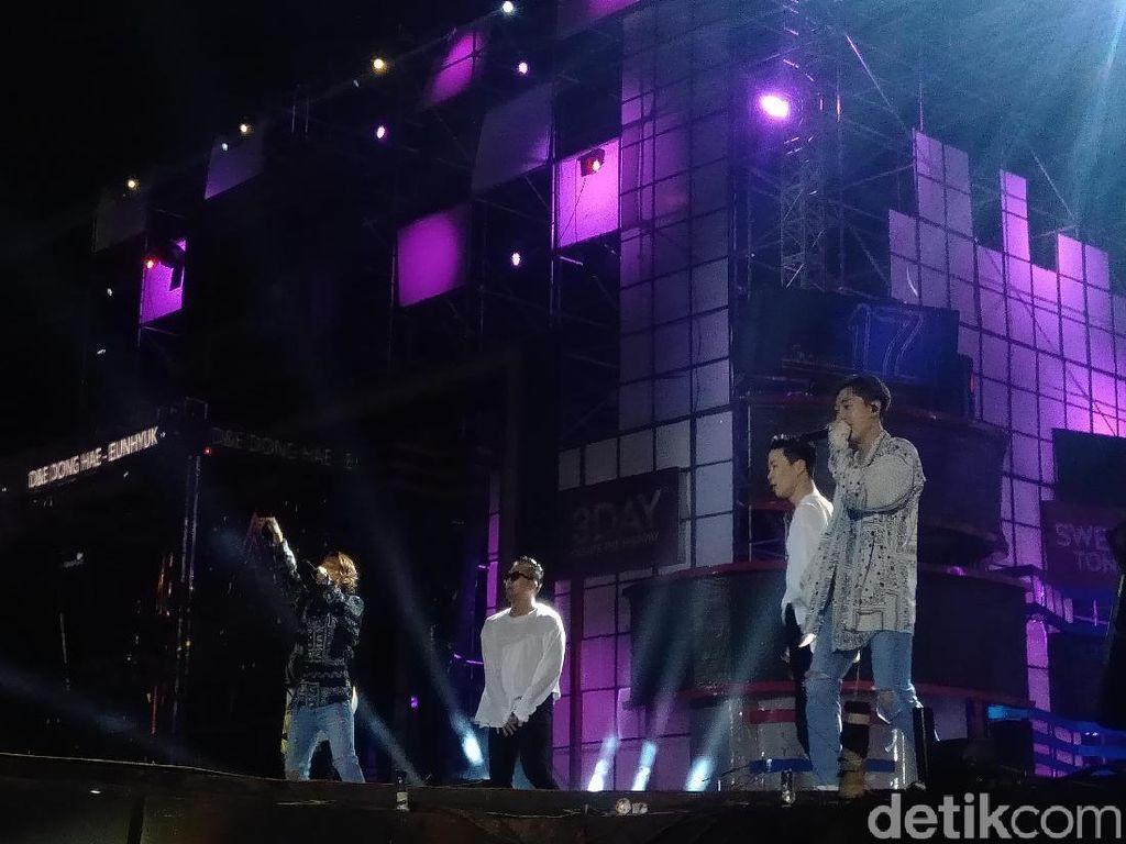 ELF Nikmati Lagu Oppa Oppa yang Dinyanyikan Super Junior D&E