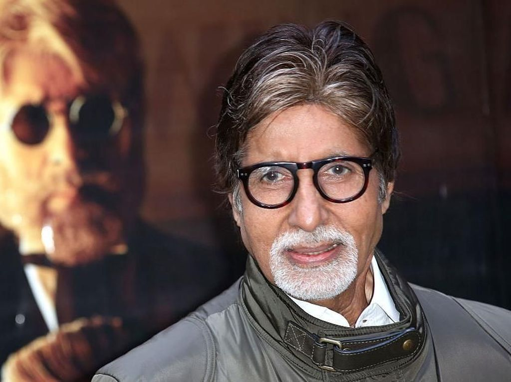Amitabh Bachchan, Artis Terkaya India yang Kena Corona