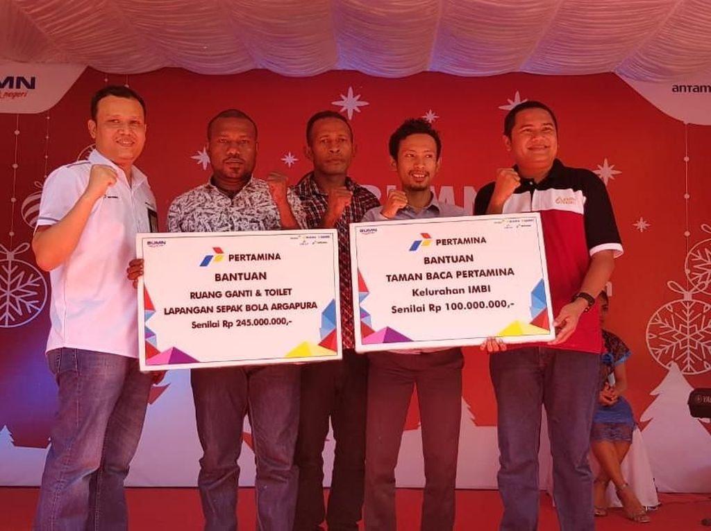 Bareng 4 BUMN, Pertamina Bantu Sarana 17 Panti Asuhan di Papua