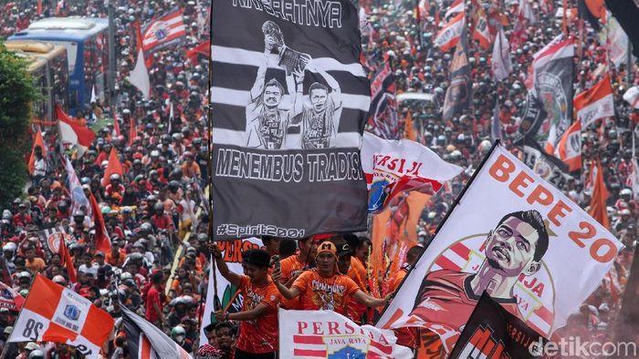 Persija Jakarta akan bertanding di Piala Indonesia. (Foto: Rifkianto Nugroho)