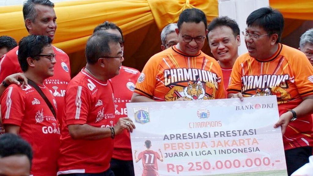 Persija Diguyur Bonus Rp 250 juta