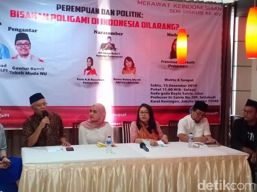 Dukung Sikap PSI, Komnas Perempuan: Poligami Bukan Ajaran Islam