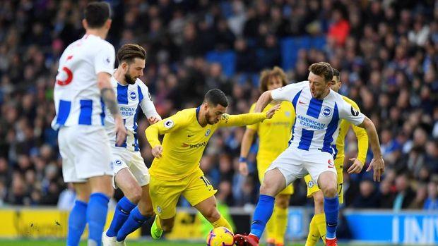 Hasil Brighton Vs Chelsea: The Blues Susah Payah Menang 2-1