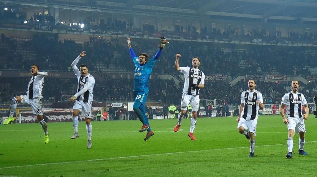 Juventus Masih Kuasai Turin