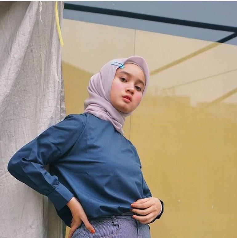 Tutorial Hijab Pashmina Pakai Jepitan