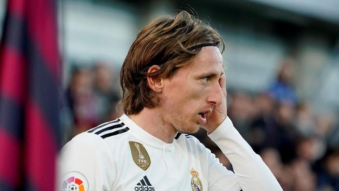 AC Milan menanti peluang untuk merekrut Luka Modric. (Foto: Vincent West/Reuters)
