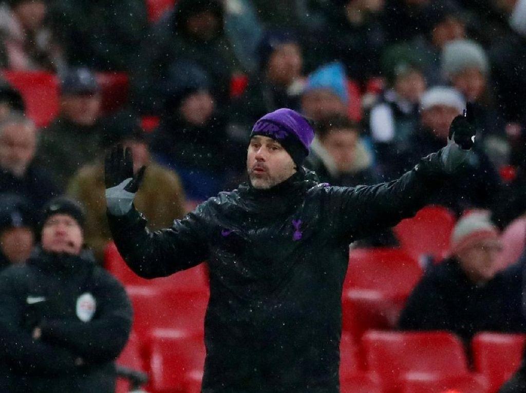 Pochettino Raih Kemenangan ke-100, Lebih Cepat dari Wenger