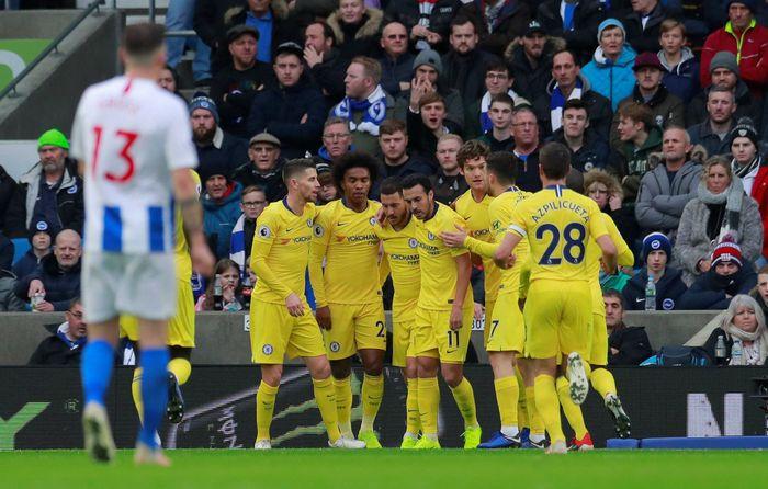 Chelsea membidik kemenangan di dua laga sebelum Natal. (Foto: Andrew Couldridge/Reuters)