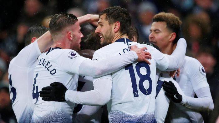 Tottenham Hotspur berjuang sampai menit akhir untuk meraih kemenangan atas Burnley 1-0. (Foto: Andrew Couldridge/Action Images via Reuters)