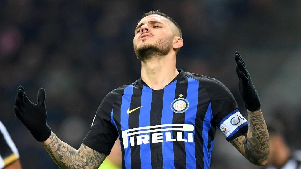 Video Gaya Panenka Icardi yang Menangkan Inter