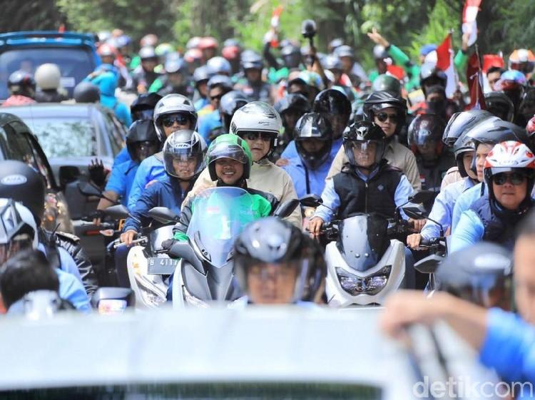 Prabowo ke Driver Ojol: Saya Tahu Anda Bekerja Keras Cari Nafkah Halal