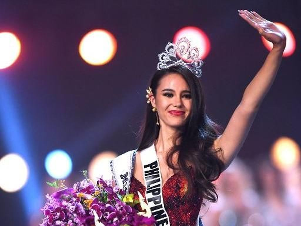 Gunung Berapi dan Mimpi Sang Ibu dalam Gaun Kemenangan Miss Universe 2018