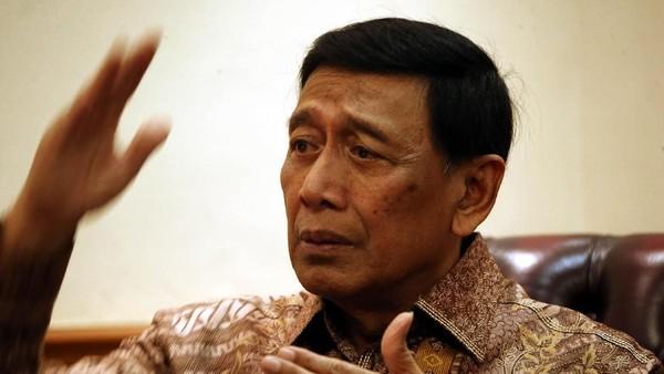 Menkopolhukam Wiranto  saat Blak blakan di detikcom