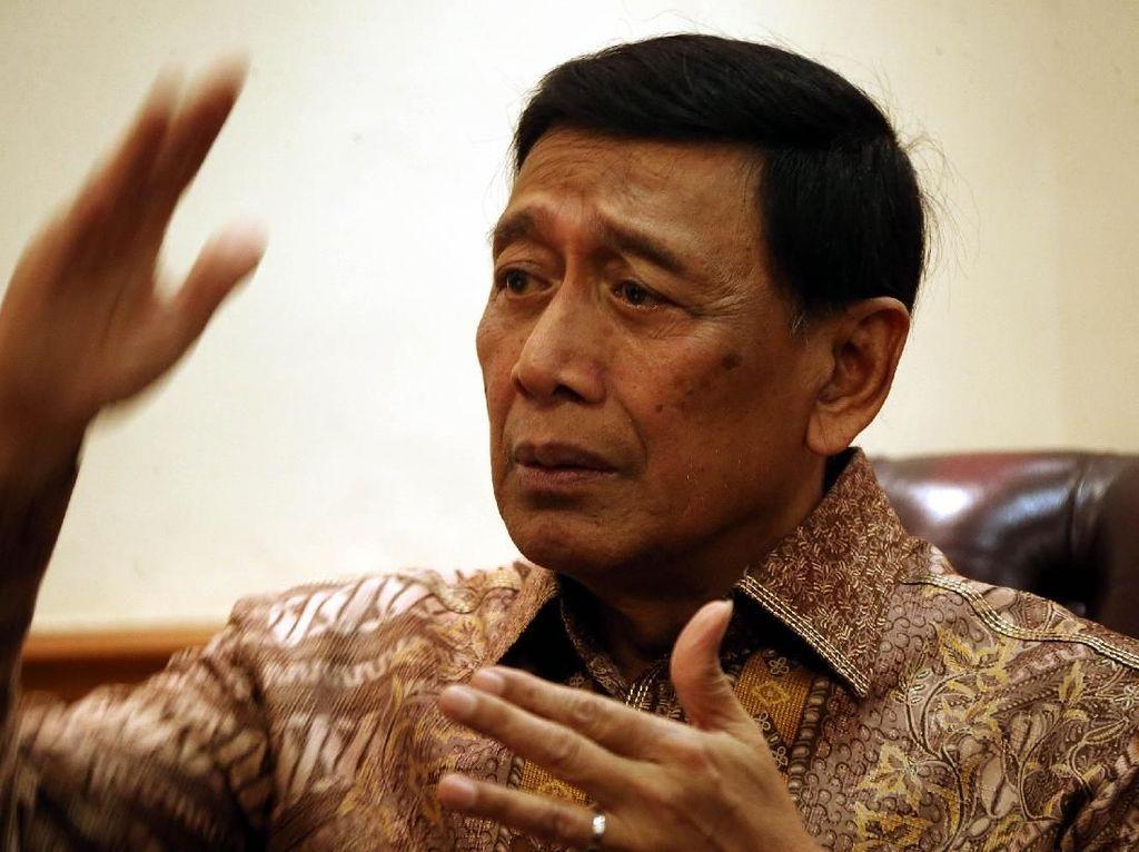 Rumah 2 Pimpinan KPK Diteror, Wiranto: Kejar dan Tangkap Pelakunya