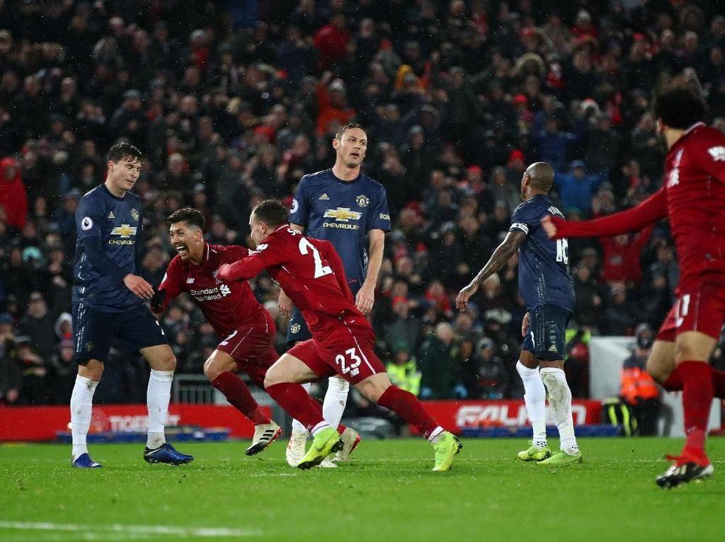 Liverpool Paling Sering Dikalahkan MU di Liga Inggris