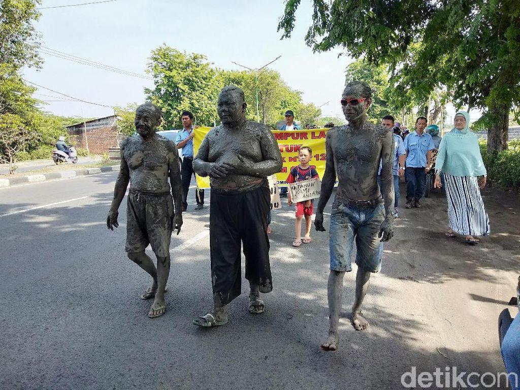 Tagih Janji Jokowi, Warga Korban Terdampak Mandi Lumpur Sidoarjo