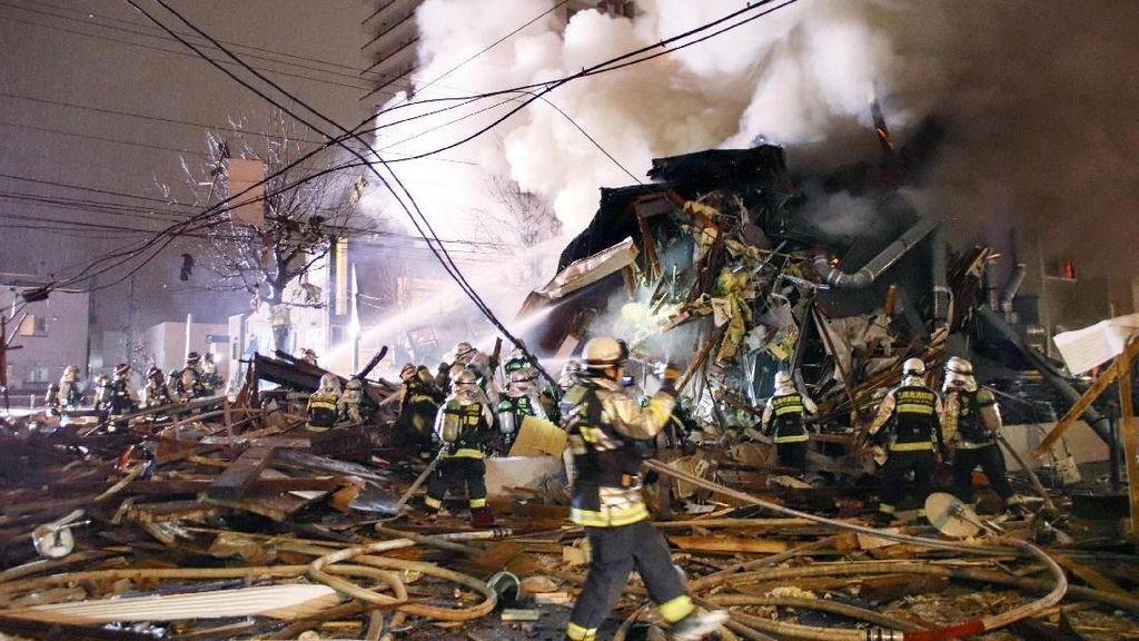 Ledakan Terjadi di Bar Jepang,  Rusak Parah, Ngeri!