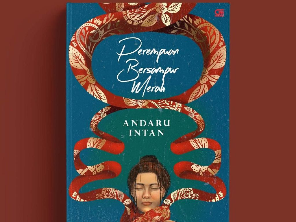Novel Perempuan Bersampur Merah Terbit Januari 2019